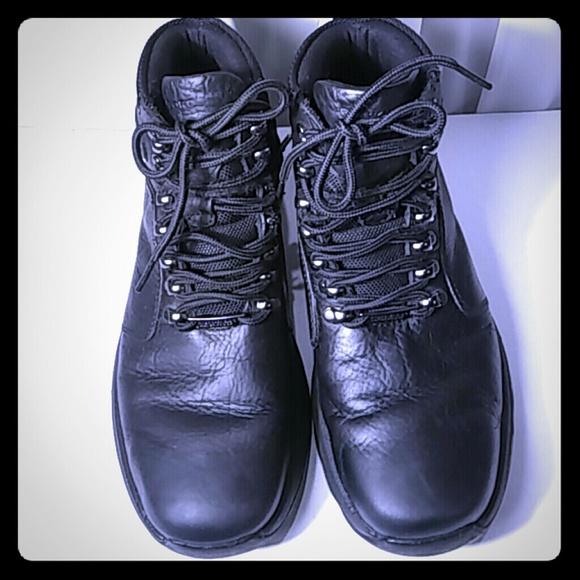 Mens Xcs Waterproof Leather Boots